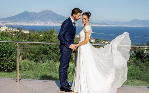 Matrimonio vista mare